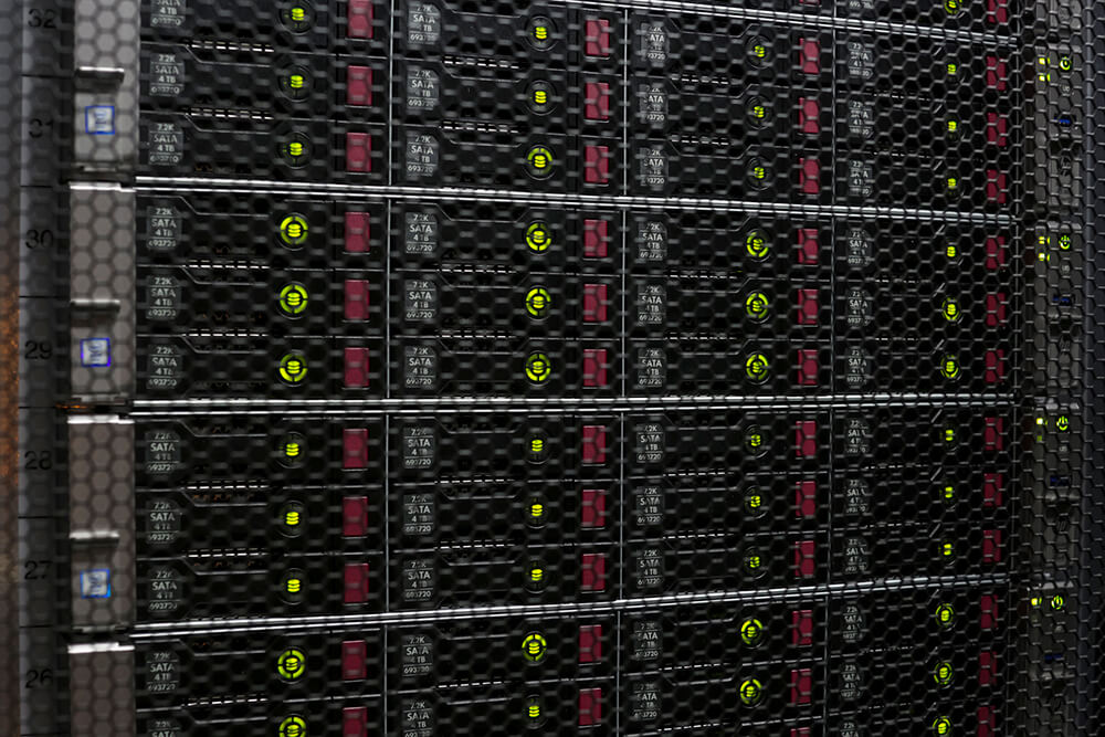 RackRay dedicated servers